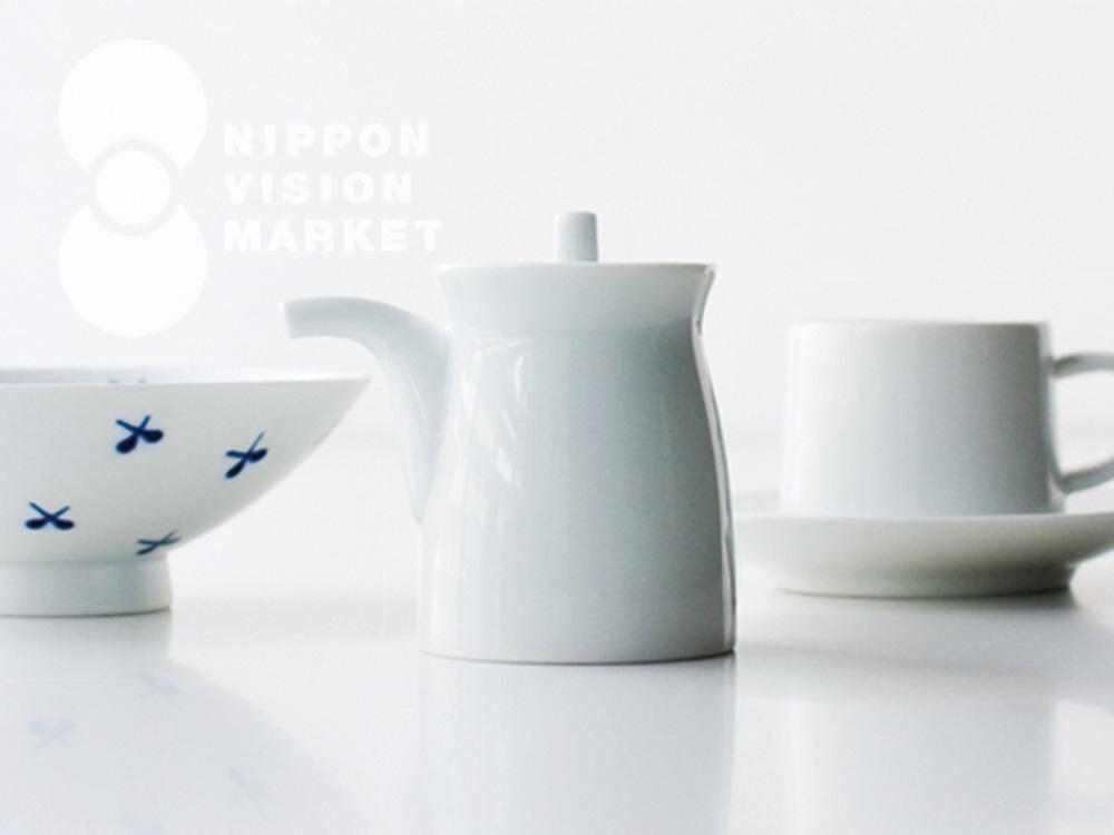 NIPPON VISION MARKET「佐賀 森正洋のうつわと平形めし茶碗 」